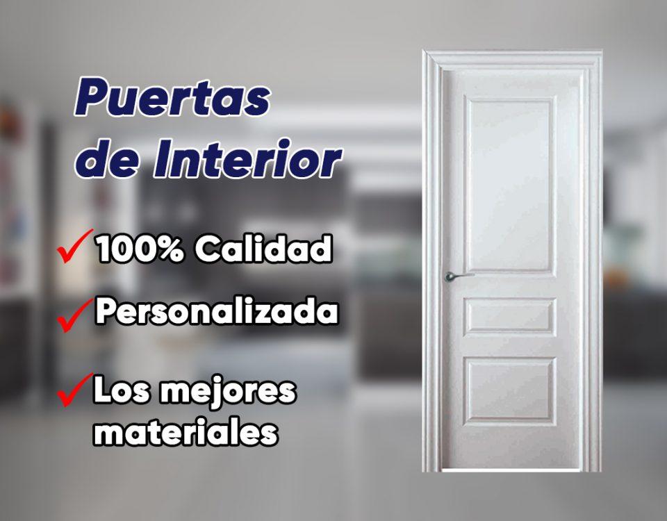 Puertas interiores para tu vivienda