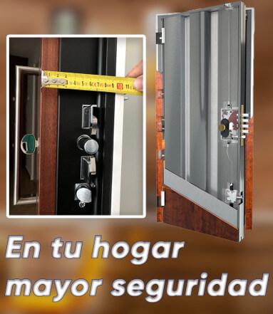 Mejor precio de puertas acorazadas