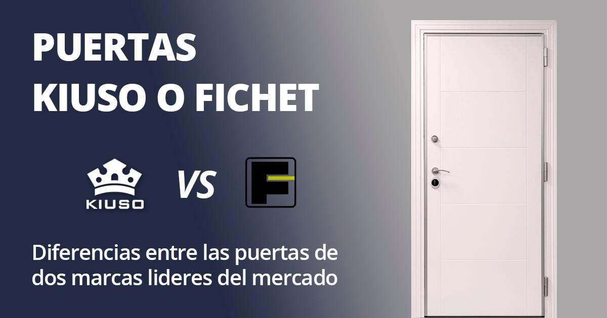 Puertas Kiuso o Fichet